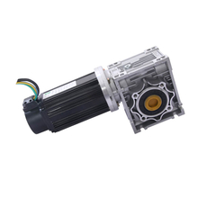 BLDC SERVO MOTOR 24V 400W WITH WORM GEAR