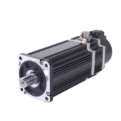 high torque 24v 400w pmsm servo motor with brake
