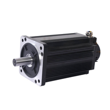 high torque small size 48V 3kw brushless dc motor with encoder, dc servo motor,K
