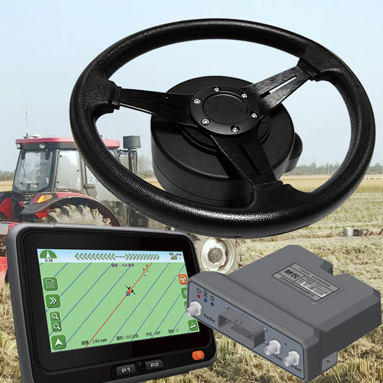 steering wheel for precision agriculture